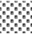 studio speakers pattern seamless vector image vector image