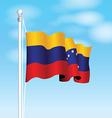 venezuela flag vector image