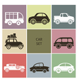 Car icons vector image vector image