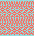 colorful geometric seamless pattern with small vector image vector image