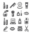 Cosmetics Icons vector image