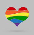 lgbt love peace pride gay pride sign vector image