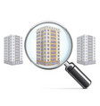 Living Block with Lens vector image vector image