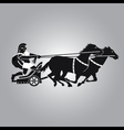 Chariot with horses vector | Price: 1 Credit (USD $1)