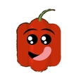 peppers expressions hungry face vector image