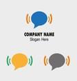 Sms and wifi logo icon