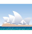 Sydney Opera House vector image vector image