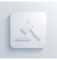 modern courthouse light icon vector image