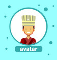asian man avatar icon thai male in traditional vector image vector image