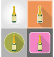 Celebration flat icons 03 vector image