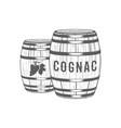 cognac logotype vector image