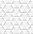 gray hexagon seamless vector image vector image
