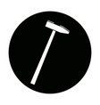 Hammer construction build object icon