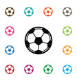 isolated soccer icon game element can be vector image vector image