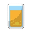 juice fruit breakfast icon vector image