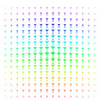 martini glass shape halftone spectral grid vector image