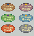Set of Vintage Retro Badge