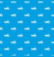 skid steer loader pattern seamless blue vector image vector image