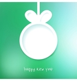Christmas applique background EPS8 vector image