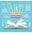Abroad Language School vector image