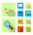 education and learning sign vector image