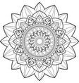entangle mandala - 2 vector image