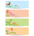 floral backgrounds with nature vector image
