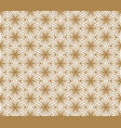 seamless pattern kumiko in golden color vector image vector image