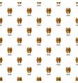 walnut pattern seamless vector image vector image