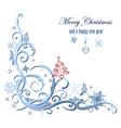 Winter decoration vector image