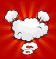 abstract boom pop art comic book vector image vector image