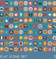 Flat icons design modern big set of various