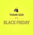 black friday sale banner black friday design vector image vector image