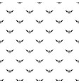 born fly pattern seamless vector image