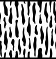 hand drawn animal skin shapes seamless pattern vector image