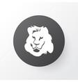 lion icon symbol premium quality isolated feline vector image vector image