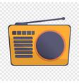 radio antenna icon cartoon style vector image vector image