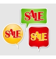 Sale Sticker Banner Template vector image
