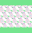 set of seamless pattern traditional japan vector image