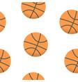 sport background design basketball balls vector image