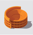 ancient rome building vector image