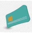 Cash card cartoon vector image vector image