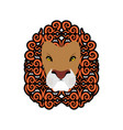 Lion abstract emblem mane ornament leo tattoo