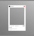 Photo frame inspired for friends internet sharing