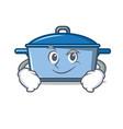 smirking kitchen character cartoon style vector image vector image