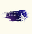 windrose grunge background vector image vector image
