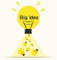Big ideaidea concept vector image