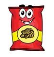 Cartoon potato chips character