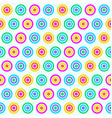 colorful circle pattern seamless vector image