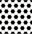 football pattern background vector image